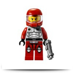Galaxy Squad Billy Starbeam Minifigure