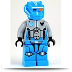 Galaxy Squad Blue Robot Sidekick Minifigure