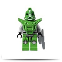 Galaxy Squad Green Robot Sidekick Minifigure