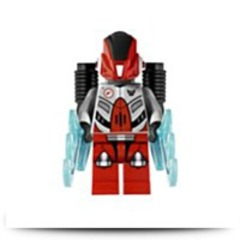 Galaxy Squad Red Robot Sidekick Minifigure