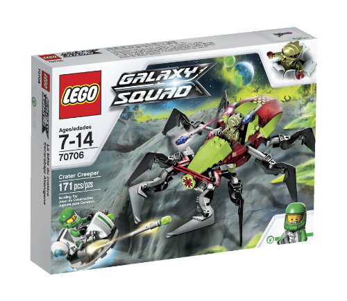 Lego Galaxy Squad Crater Creeper